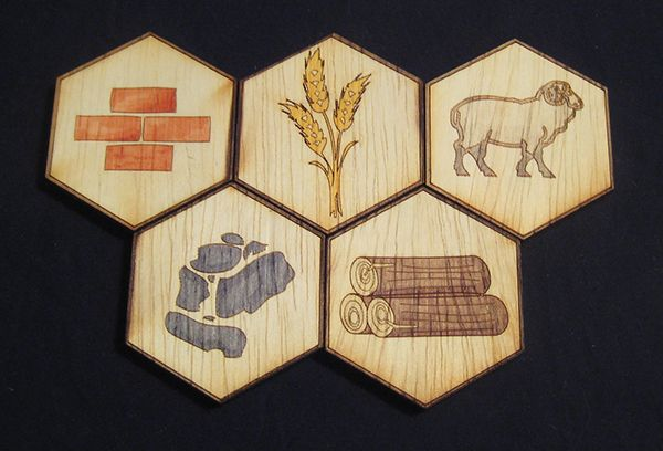 A custom game board created for personal use.