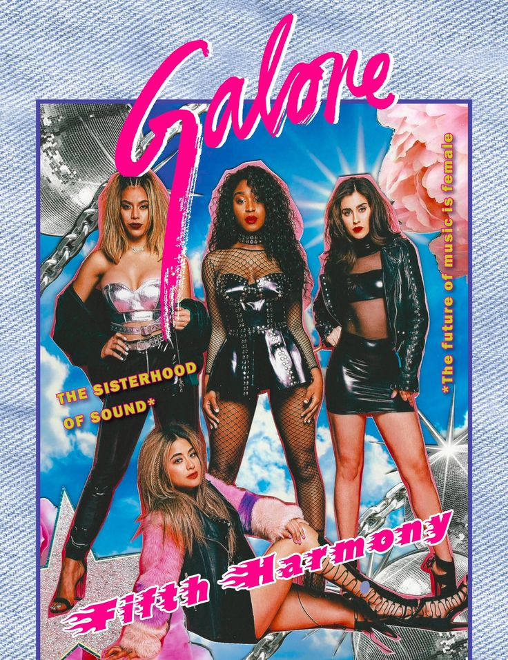 Fifth Harmony for Galore Mag 2017