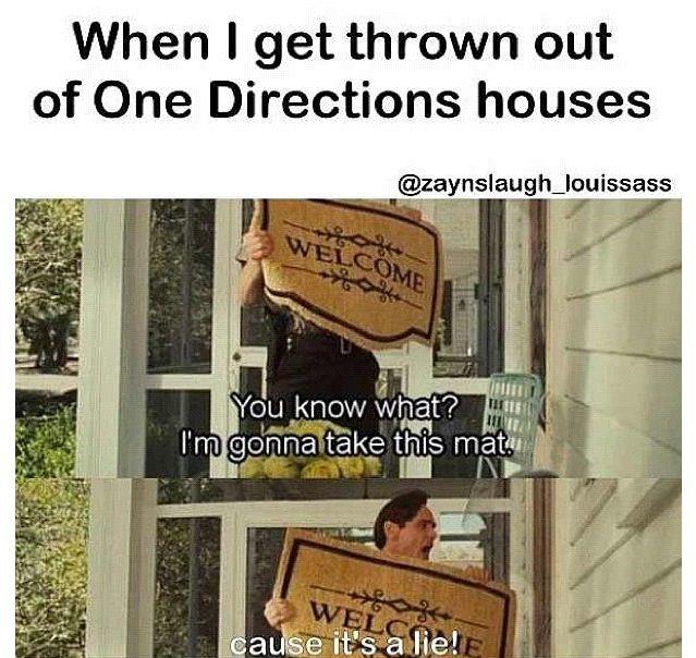 Ha One Direction, 1D, Harry Styles, Niall Horan, Liam Payne, Zayn Malik, Louis Tomlinson, Hazza, Harreh, Harold, Nialler, DJ Malik, Lou, Tommo .xx DIRECTIONER PROBLEMS...