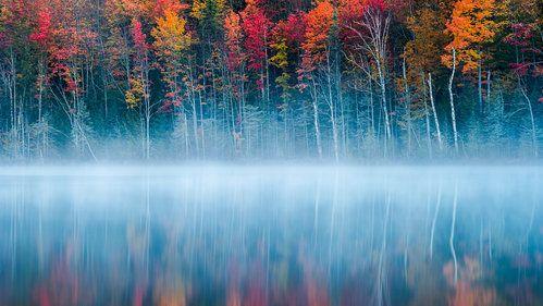 Morning Reflection by John Fan