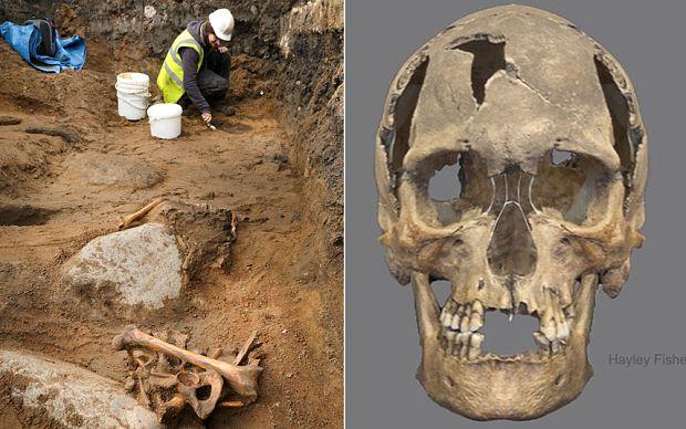 Skeleton of a 16th Century Pirate found under an Edinburgh primary school.