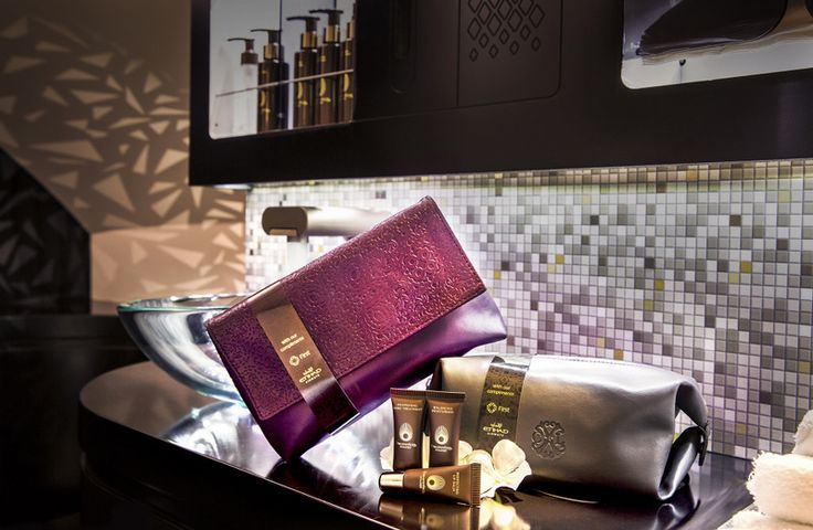 Etihad Airways 2016 First Class Amenity Kits and Washroom amenities (Etihad Airways photo)