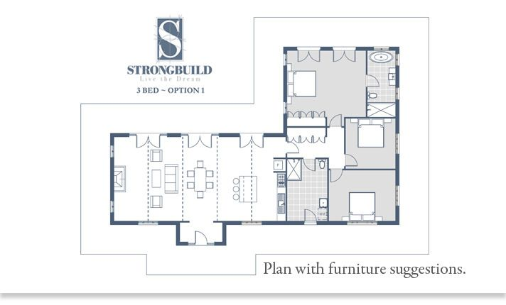 Strongbuild home builders classic designs existing for Existing house plans