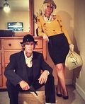 Bonnie and Clyde Couple Costumes - 2015 Halloween Costume Contest
