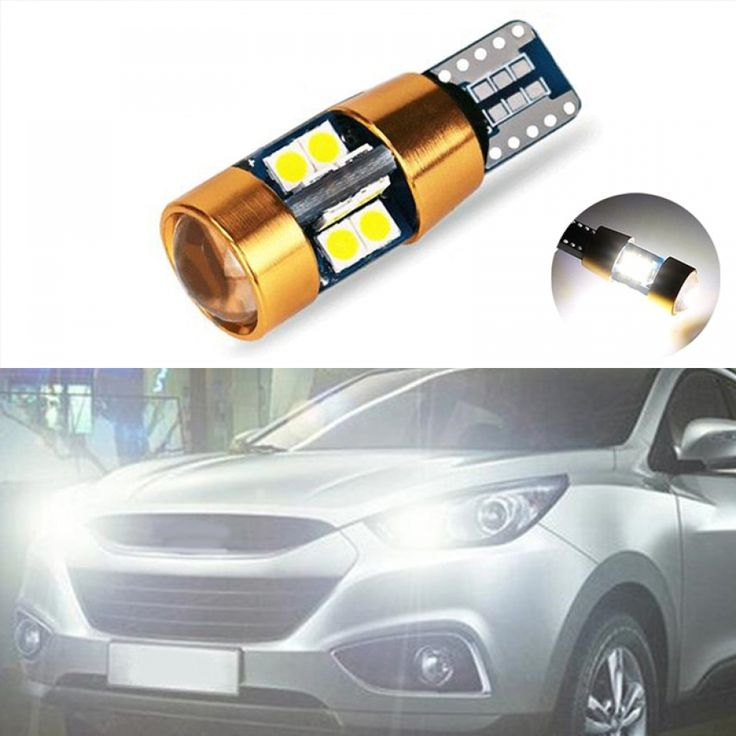 Car Led T10 Canbus W5w No Error Wedge Light For Hyundai Solaris Accent I30 Ix35 I20 14 00 شيكل مع شحن مجاني لأقرب مركز بريد في منط Car Led Elantra Hyundai