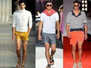 Модные шорты мужские