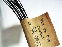 Un Fil de Poésie:  la boutique en ligne pour acheter du fil de fer