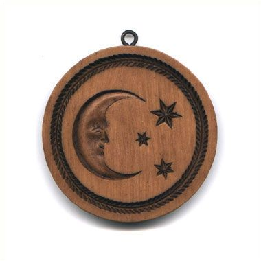 Celestial Moon: House on the Hill, Inc., Springerle and Speculaas Cookie Molds for Baking, Crafting, Decorating