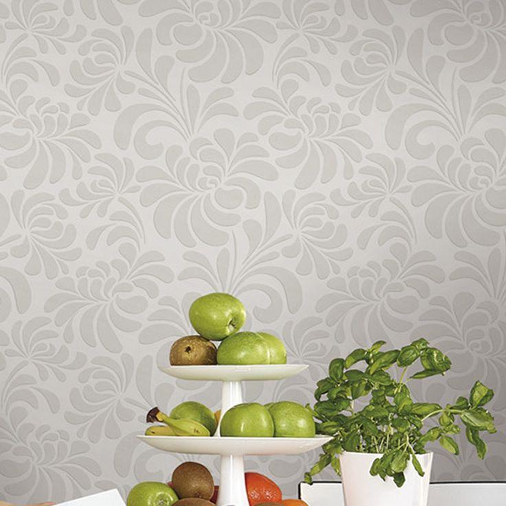 Les 25 meilleures id es concernant papier peint relief sur pinterest papier - Papier peint vinyle intisse cuisine ...