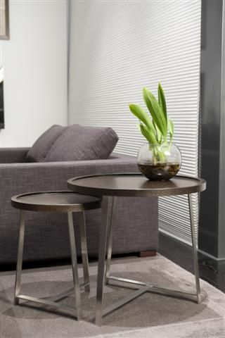 create a modern statement in your home with this beautiful side table, perfect for a candle, book or coffee!