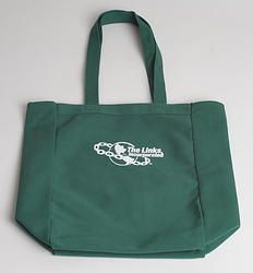 LINKS Green Tote Bag