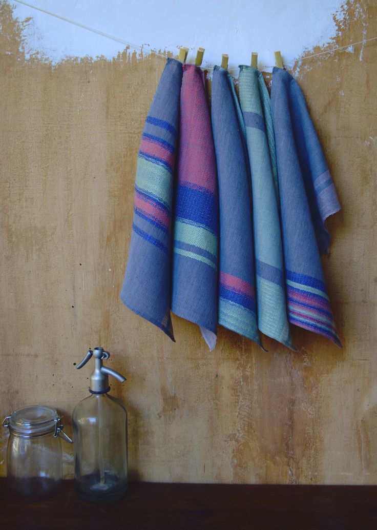 hand woven tea towels- Eszter Tóth