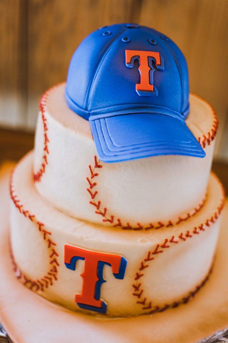 Texas Rangers groom's cake