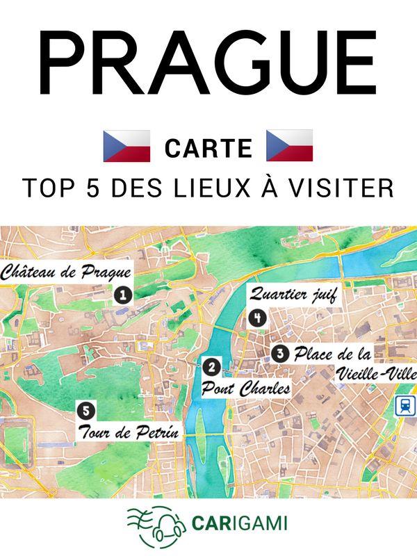 Quels sont les 5 lieux incontournables de Prague ? Voici notre TOP 5, immanquables de la ville d'or. #Prague #Tchéquie #Républiquetchèque