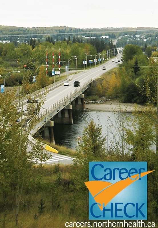 Featured job: Ever want to walk by a #river on your lunch break? Check out this view from the hospital in #Vanderhoof BC. Seeking an OR/PAR registered #nurse. Apply today! careers.northernhealth.ca #healthynorth