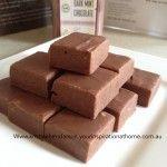 Five Minute Chocolate Fudge