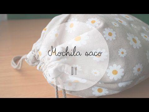 DIY Mochila saco   Manualidades