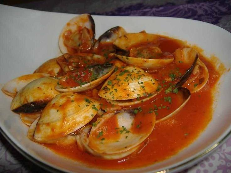 129 best images about recetas faciles y rapidas on for Como preparar almejas en salsa