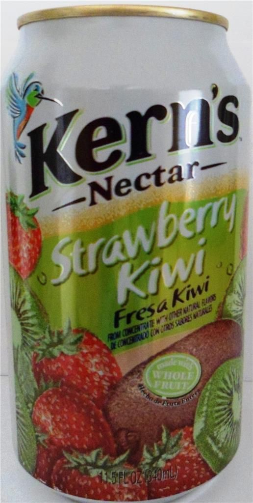 12 Kern'S Nectar Strawberry Kiwi Juice 11.5Oz