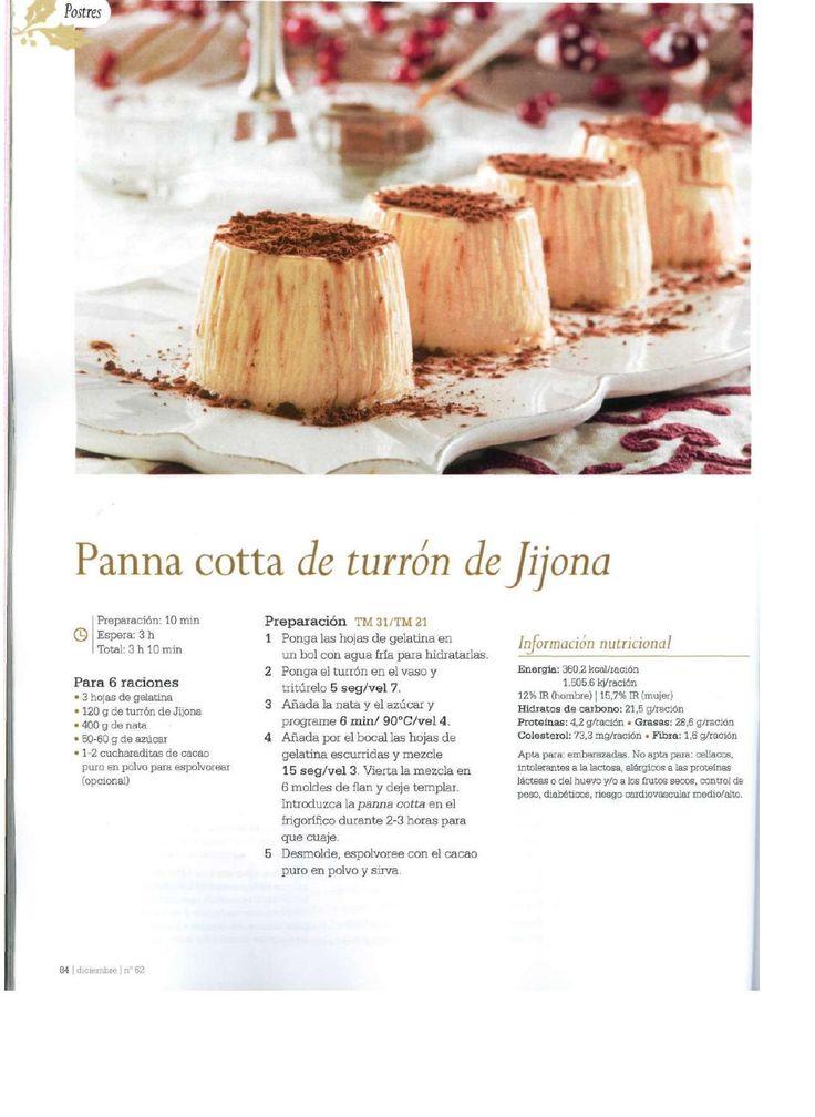 Revista thermomix n 62 especial navidad por argent - Postre especial navidad ...