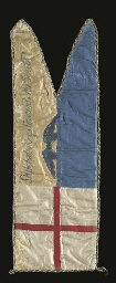 ROBERT FALCON SCOTT (1868-1912) Captain Scott's silk sledging flag