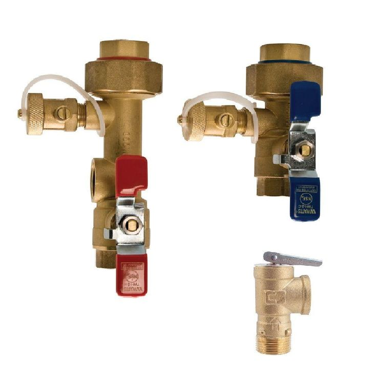 Watts 3 4 In Lead Free Copper Tankless Water Heater Valve