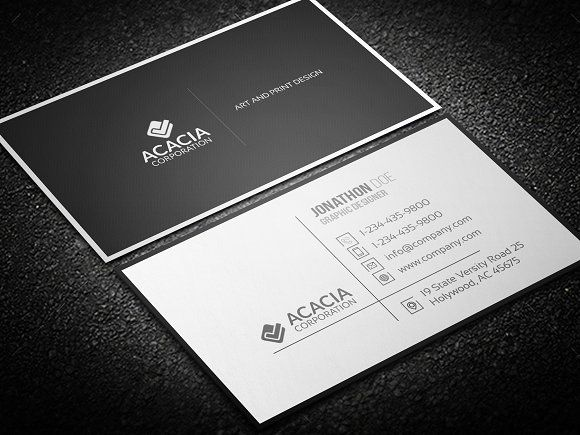 36 best design resources business card designs images on pinterest simple business card accmission Gallery