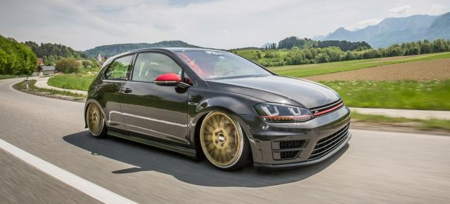 "Low Carb: ""Gepfefferter"" VW Golf 7 GTI komplett in Carbon gehüllt"