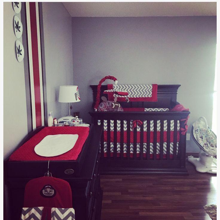 Ohio State Nursery! #OSUNursery #OhioState #LilManCave
