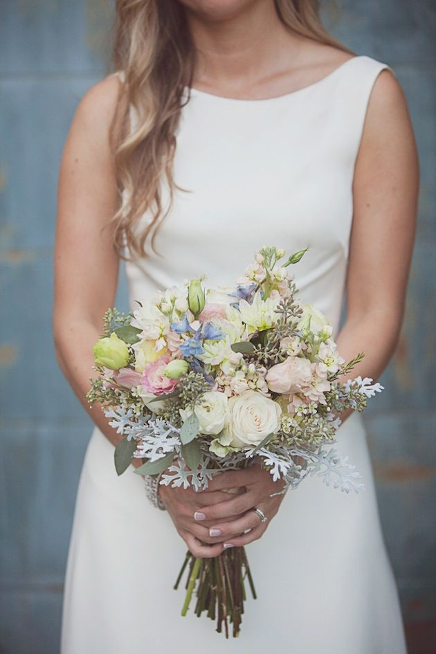 Elegant & Timeless Wedding Filled With Pretty Pastel Blooms - Bridal Musings Wedding Blog