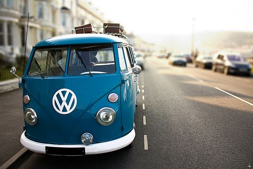 VW bus... yes I am a hippie at heart and this was one of my dream rides and it had to be this color!
