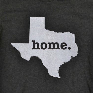 Texas Home T-Shirt - they donate part of the cost to the MS Society