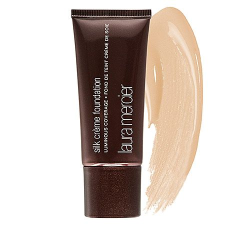 Laura Mercier - Silk Creme Foundation - Cashew Beige - neutral beige/ for medium golden skin tones #sephora