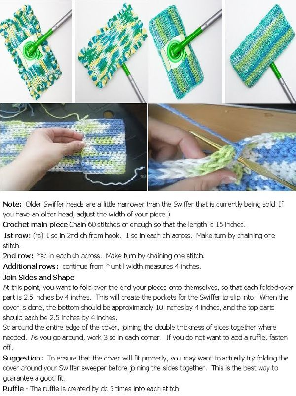 18 Best Swiffer Crochet Patterns Images On Pinterest