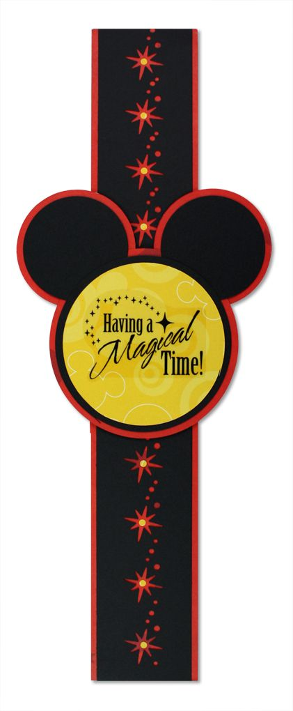 #scrapbooking  Disney Mickey & Friends Border Idea