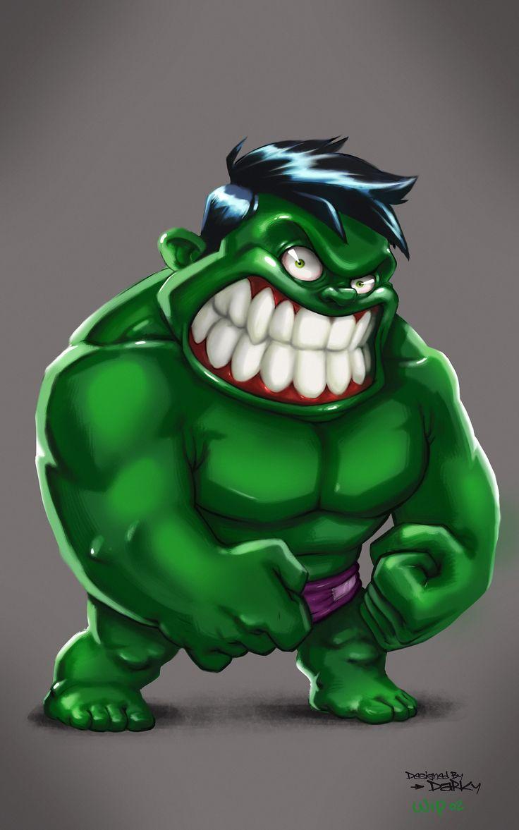 #Hulk #Fan #Art. (Hulk) By: Darky. (THE * 5 * STÅR * ÅWARD * OF: * AW YEAH, IT'S…