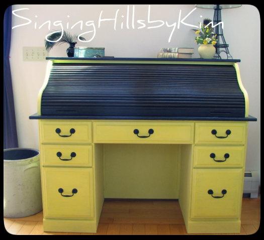 Rolltop Desk Project Idea )Rolltop) Project Difficulty: Simple  MaritmeVintage.com Images