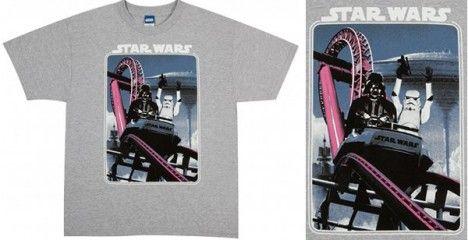 star wars rollercoaster t-shirt