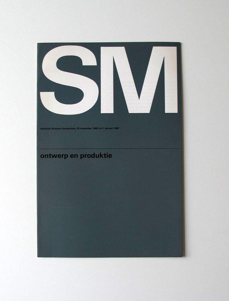 Wim Crouwel for Stedelijk Museum