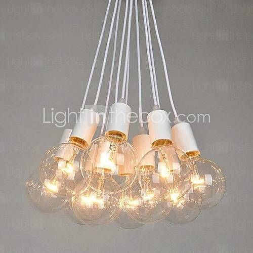 [USD $ 239.99] North American Country Edison Bulbs Art Chandelier