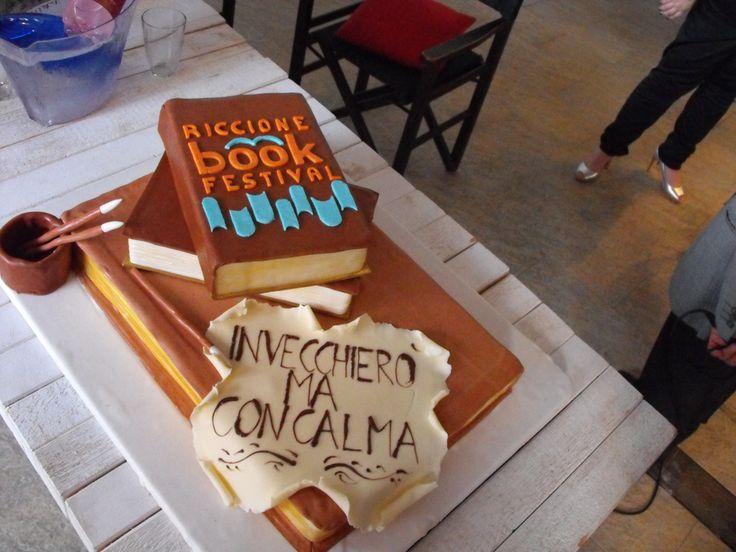 Torta ufficiale del Riccione Book Festival!