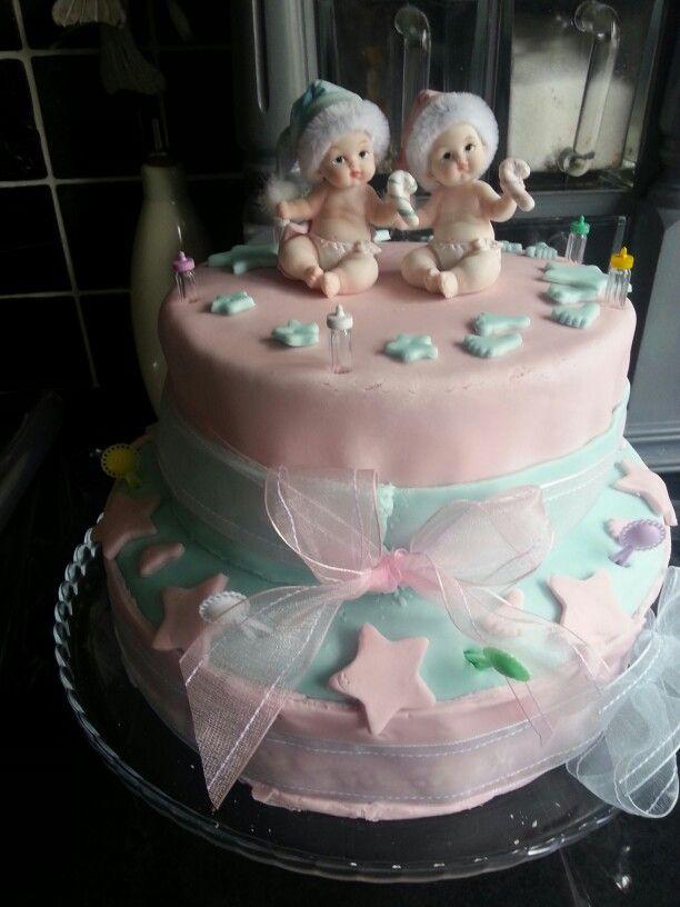 Gender cake i made for Cheryl  may 2014