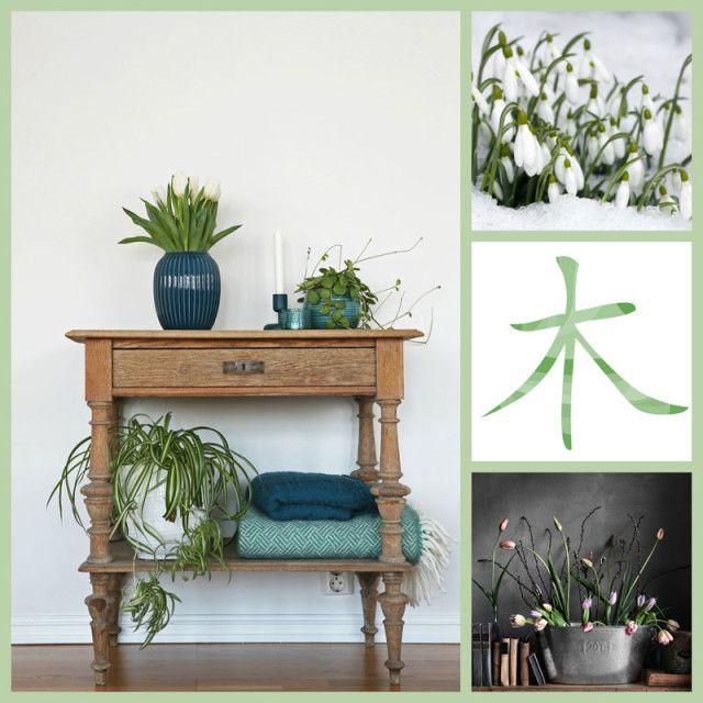 Vårens energi Feng Shui og årstidene #spring #fengshui #vår #årstidene #seasons #homedecor #green #interior