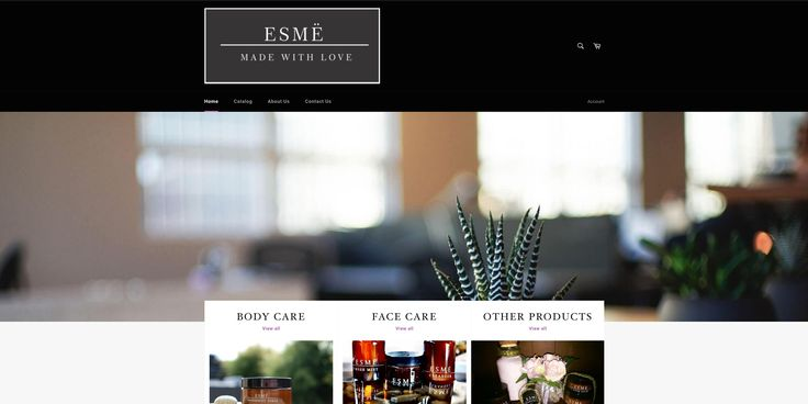 We had the pleasure of working on our first published Shopify website with Esme, who sells beauty & theraputic products, check them out!