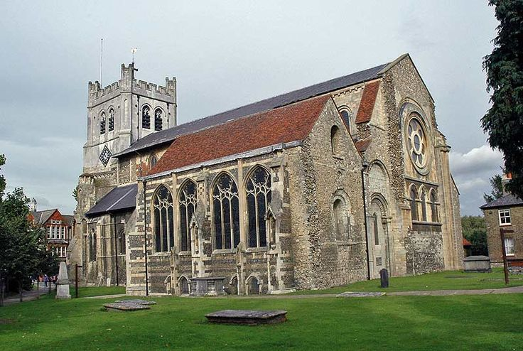 Waltham Abbey -EXCERPT: 'In March 1540, Waltham became the last abbey to be closed down by Henry VIII during the Dissolution of the Monasteries.  Interestingly, the abbey organist at the time was Thomas Tallis (circa 1505 - 1585) who is now considered the father of English cathedral music.'