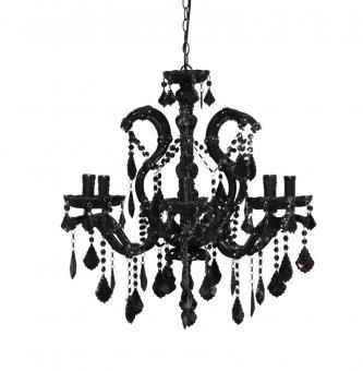 Acrylic Black Chandelier. A Block and Chisel Product. Now R895. www.findit4women.co.za
