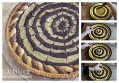 Crostata bicolore - ricetta golosa http://blog.giallozafferano.it/laziatata/crostata_bicolore_ricetta_golosa/