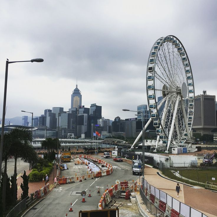 Hong Kong's Ferris Wheel
