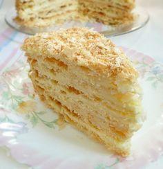 """Хорошая еда отвлекает от плохих размышлений! - Торт """"Наполеон"""""""