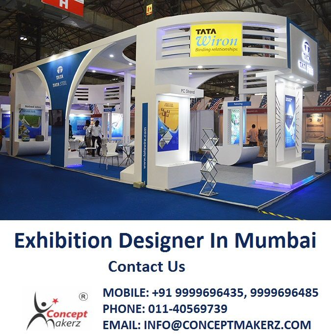 Best Exhibition Stall Designs : Concept makerz is best exhibition designer in mumbai with out of the